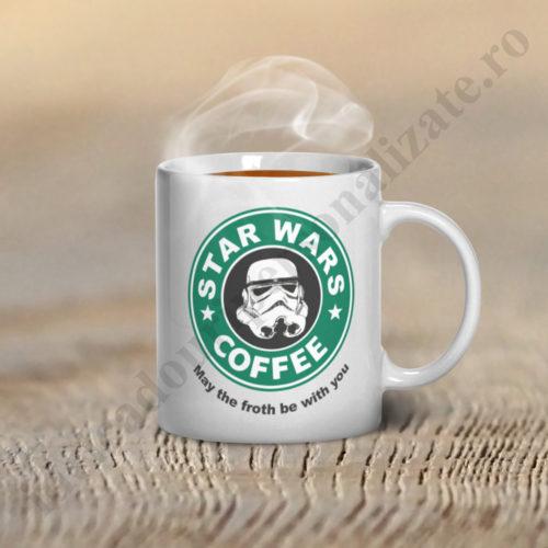 Cana personalizata Star Wars, cani personalizate, cana personalizata, cani cafea haioase