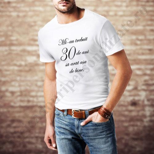 Tricou personalizat cu varsta barbat