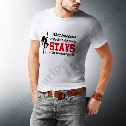 tricouri personalizate what happens, tricouri personalizate burlaci