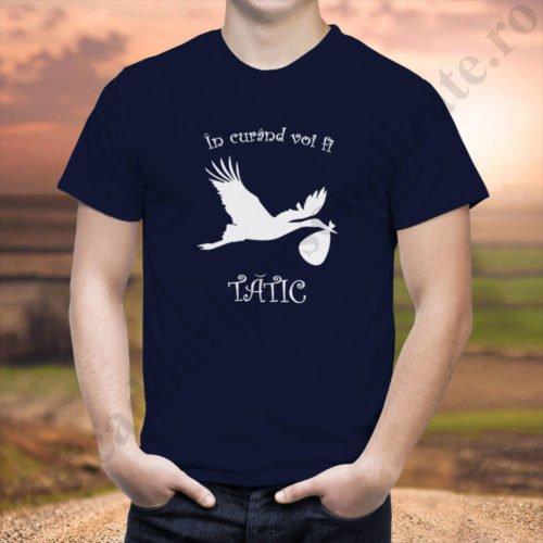 tricou personalizat voi fi tatic, idei cadouri personalizate