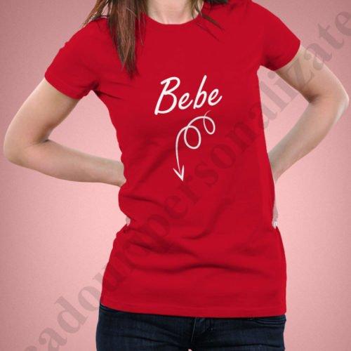 Tricou personalizat Bebe, tricouri personalizate pentru viitoare mamici, idei cadouri personalizate