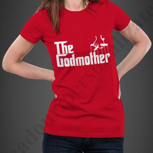 tricou personalizat The Godmother, tricouri personalizate burlacite, idei cadouri personalizate