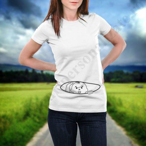 Tricou personalizat pentru mamici, idei cadouri personalizate