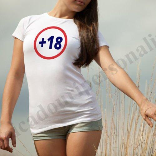 tricou interzis sub 18 ani dama