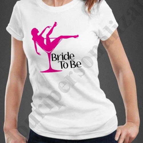 tricouri personalizate pentru burlacite, idei cadouri personalizate, Tricouri personalizate bride to be