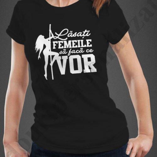tricouri personalizate pentru burlacite, idei cadouri personalizate, Tricou personalizat lasati femeile