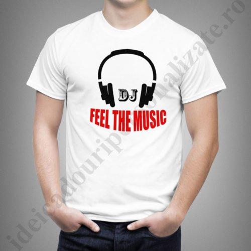 Tricou personalizat pentru DJ, tricouri cu mesaje pentru DJ, idei cadouri personalizate