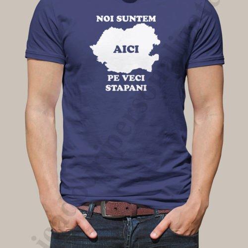 Tricou patriotic Pe veci stapani, tricouri personalizate patriotice, idei cadouri personalizate
