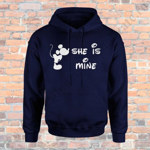 Hanorac barbati Mickey, Hanorac dama Minnie, Hanorace cupluri, hanorace barbati, hanorace dama, idei cadouri personalizate