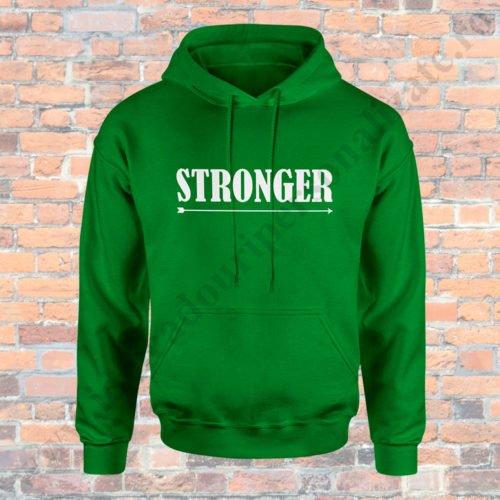 Hanorac barbati Stronger, Hanorac dama Together, Hanorace cupluri, hanorace barbati, hanorace dama, idei cadouri personalizate