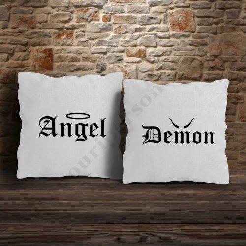 Perne Angel Demon, perne personalizate , Idei cadouri personalizate