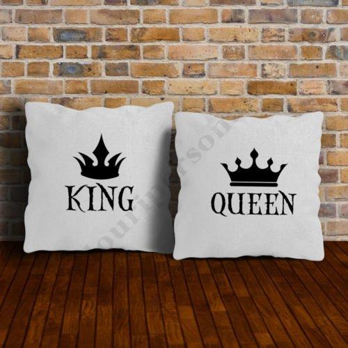 Perne King si Queen, perne personalizate, Idei cadouri personalizate