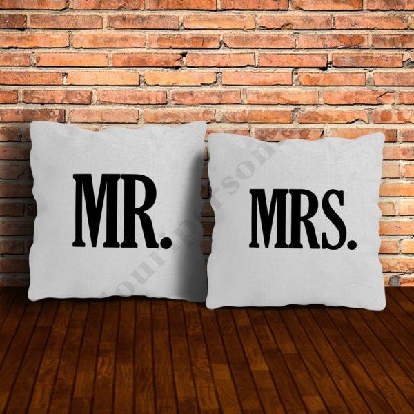 Perne MR si MRS, perne personalizate, Idei cadouri personalizate