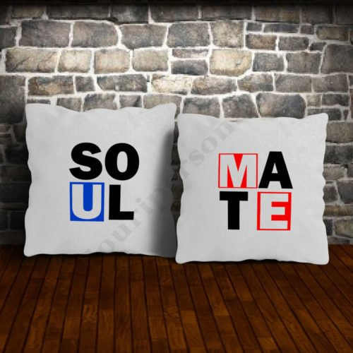 Perne soul mate, perne personalizate, Idei cadouri personalizate