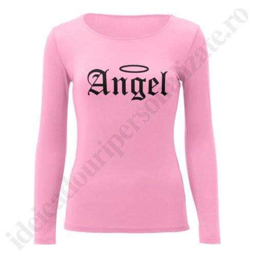Bluza barbati Demon, Bluza dama Angel, bluze, bluze cupluri, bluze barbati, bluze dama, idei cadouri personalizate