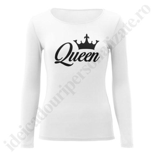 Bluza barbati King, Bluza dama Queen, bluze, bluze cupluri, bluze barbati, bluze dama, idei cadouri personalizate