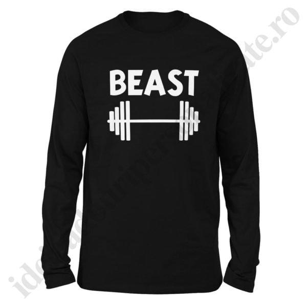 Bluza barbati Beast, bluze cupluri, bluze barbati, idei cadouri personalizate