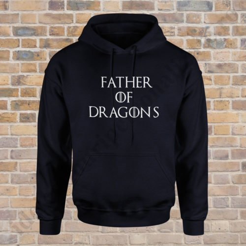 Hanorac Father of Dragons, hanorace tatici, idei cadouri personalizate