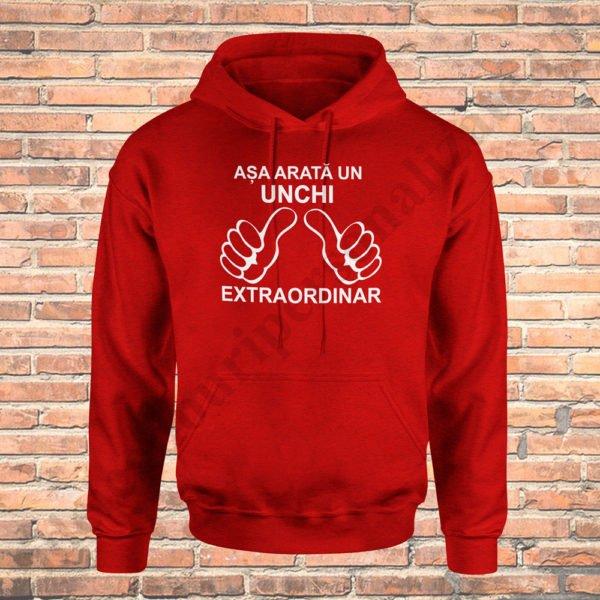 Hanorac Unchi Extraordinar, hanorace aniversare, idei cadouri personalizate