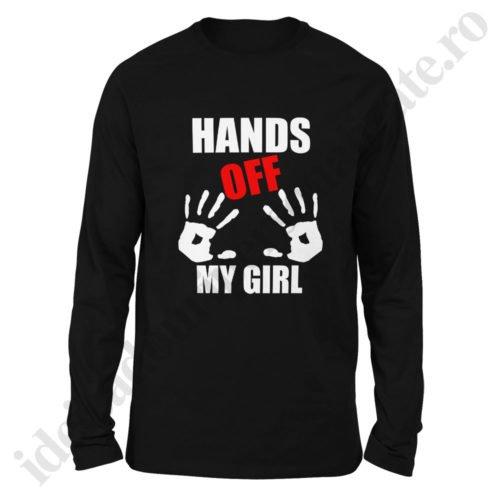Bluza barbati Hands Off, bluze cupluri, bluze barbati, idei cadouri personalizate