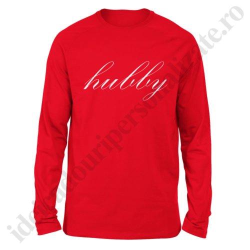 Bluza barbati Hubby, bluze cupluri, bluze barbati, idei cadouri personalizate
