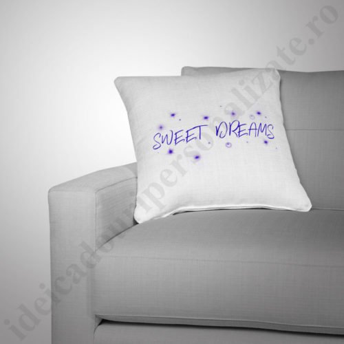 Perna Sweet Dreams, perne copii, perna fete, perne personalizate