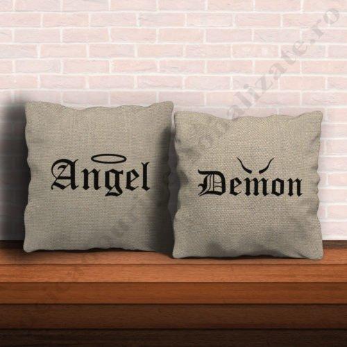 Perne angel demon, perne personalizate, idei cadouri personalizate