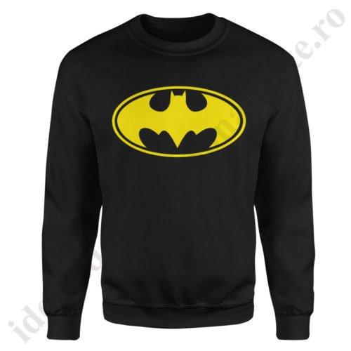 Pulover barbat Batman, pulovere cupluri, sweatshirt barbati, idei cadouri personalizate