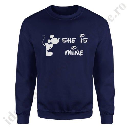 Pulover barbat Mickey, pulovere cupluri, sweatshirt barbati, idei cadouri personalizate