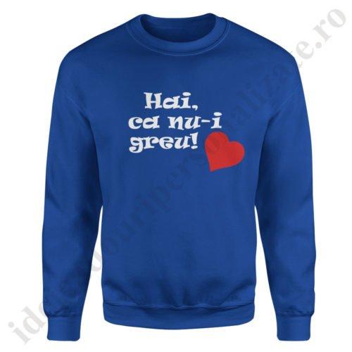 Pulover dama Hai ca..., pulovere cupluri, sweatshirt dame, idei cadouri personalizate