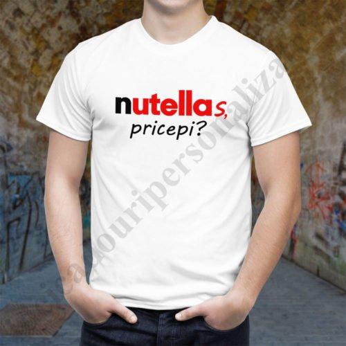 Tricou barbati Nutellas, tricouri cupluri, tricouri barbati, idei cadouri personalizate