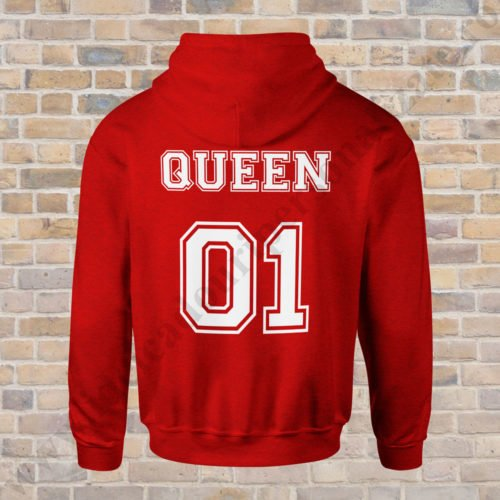Hanorac dama Queen 01, hanorace cupluri, hanorace dama, idei cadouri personalizate