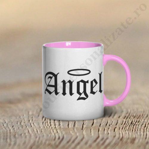Cana Angel, cani cupluri, cani personalizate pentru cupluri, idei cadouri personalizate