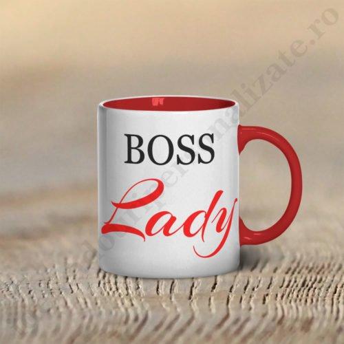 Cana Boss Lady, cani cupluri, cani personalizate pentru cupluri, idei cadouri personalizate