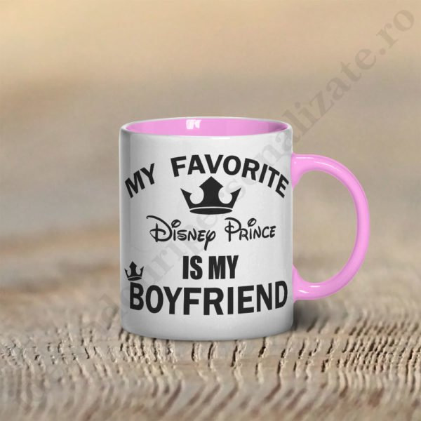 Cana Disney Boyfriend, cani cupluri, cani personalizate pentru cupluri, idei cadouri personalizate