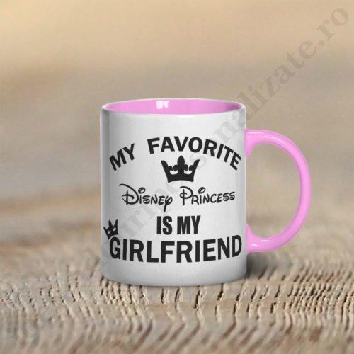 Cana Disney Girlfriend, cani cupluri, cani personalizate pentru cupluri, idei cadouri personalizate