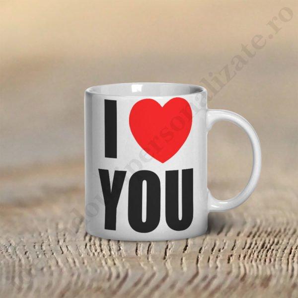 Cana Love You, cani cupluri, cani personalizate pentru cupluri, idei cadouri personalizate