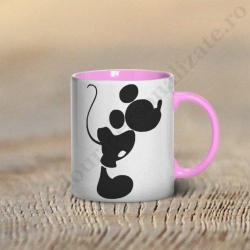 Cana cu Mickey, cani cupluri, cani personalizate pentru cupluri, idei cadouri personalizate
