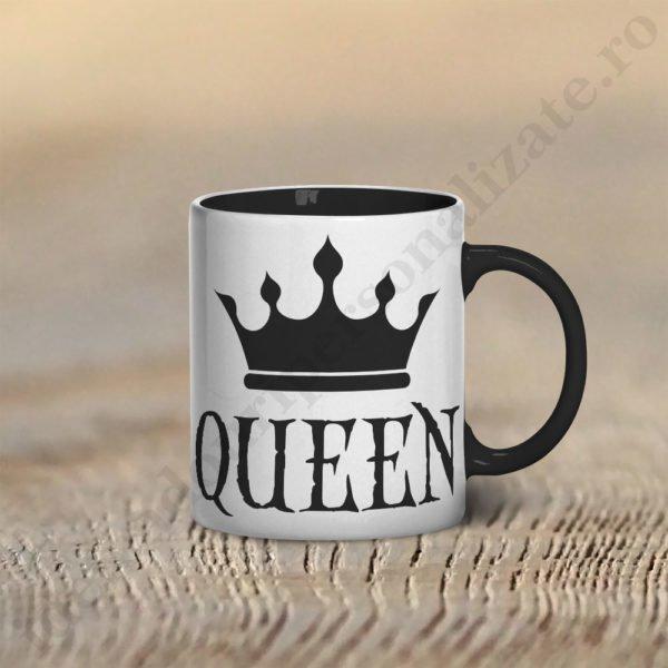 Cana cu Queen, cani cupluri, cani personalizate pentru cupluri, idei cadouri personalizate