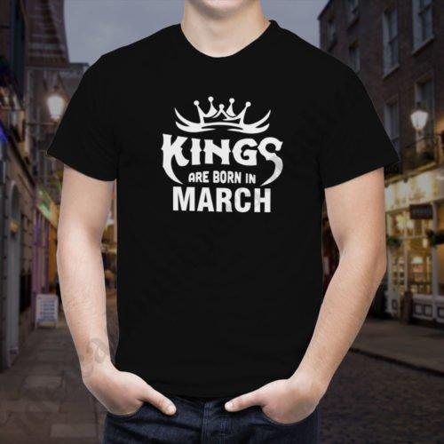 Tricou Kings March, tricouri aniversare, idei cadouri personalizate