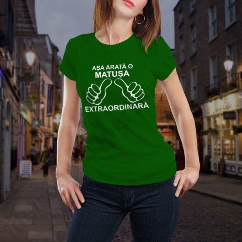 Tricou Matusa Extraordinara, tricouri aniversare, idei cadouri personalizate