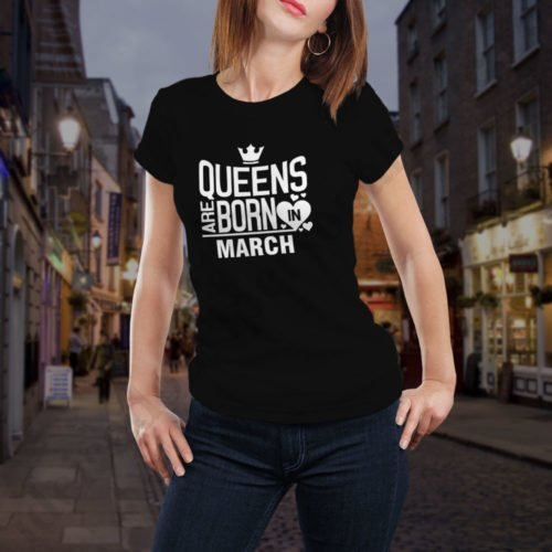 Tricou Queens March, tricouri aniversare, idei cadouri personalizate
