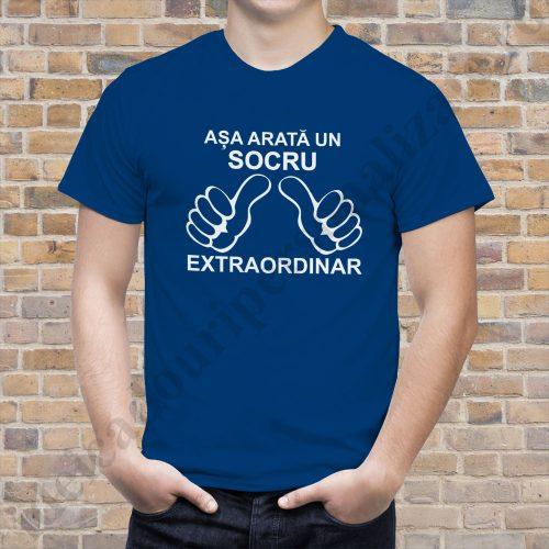 Tricou Socru Extraordinar, tricouri aniversare, idei cadouri personalizate
