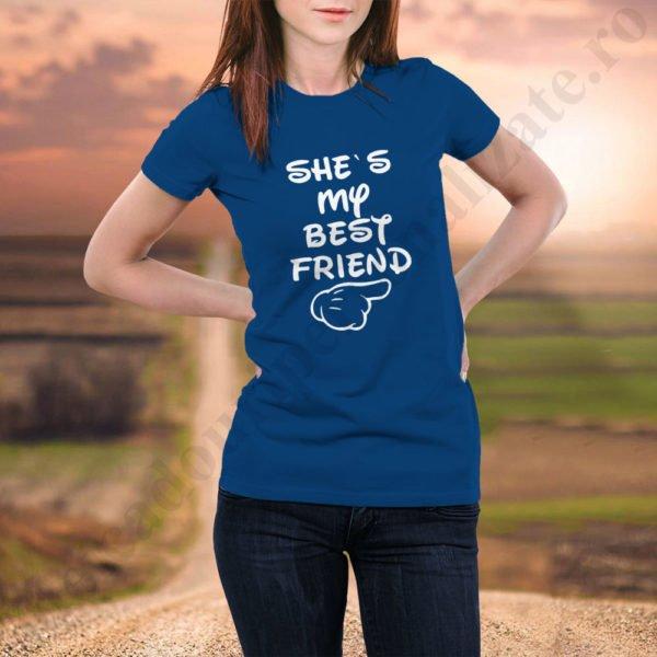 Tricou Best Friend, tricouri BFF, idei cadouri personalizate
