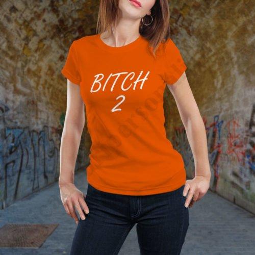 Tricou Bitch Two, tricouri BFF, idei cadouri personalizate