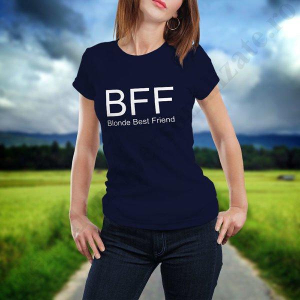 Tricou Blonde, tricouri BFF, idei cadouri personalizate