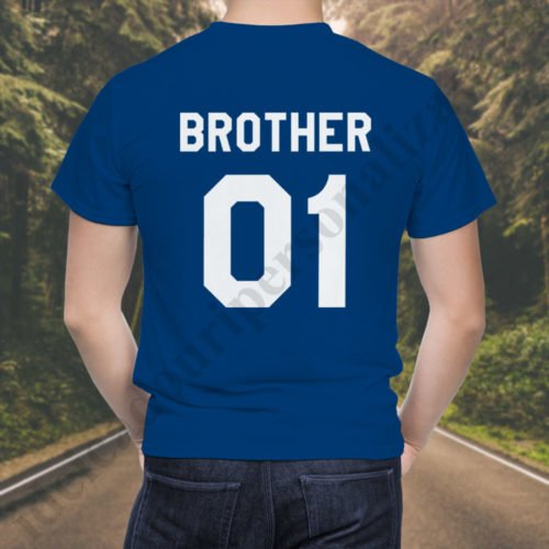 Tricou Brother One, tricouri BFF, idei cadouri personalizate
