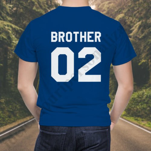 Tricou Brother Two, tricouri BFF, idei cadouri personalizate