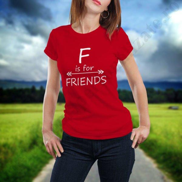 Tricou For Friends, tricouri BFF, idei cadouri personalizate