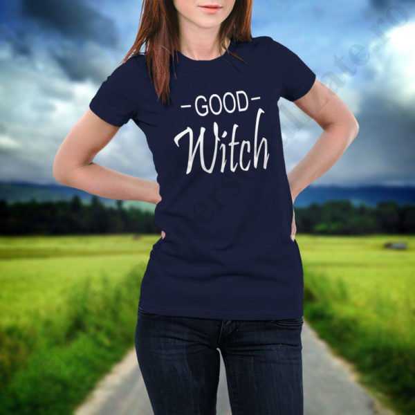 Tricou Good Witch, tricouri BFF, idei cadouri personalizate